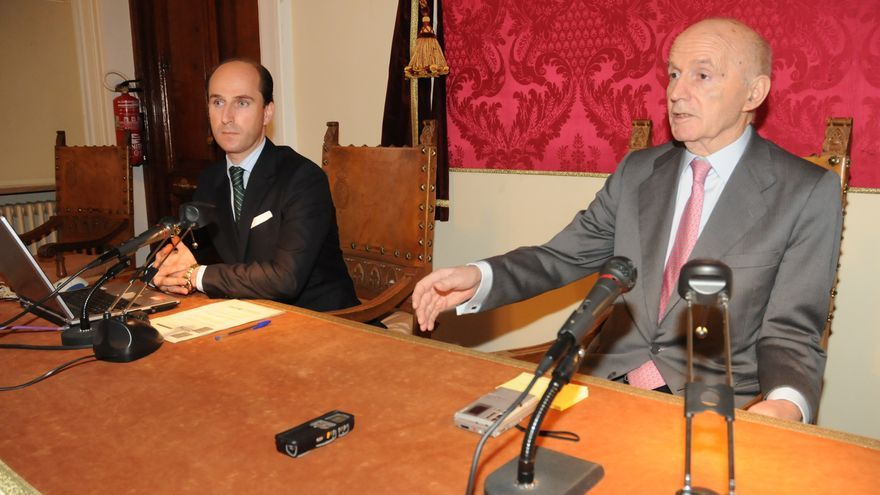 Gonzalo Anes, director de la Real Academia de la Historia, en una imagen de archivo.