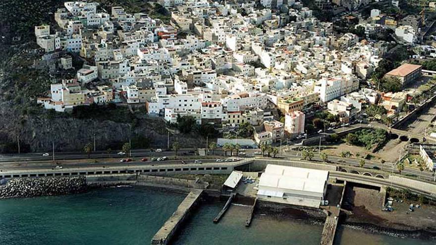 Barrio santacrucero de Valleseco