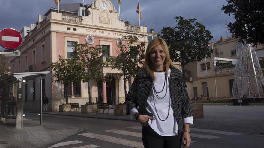 Alcaldesa del único ayuntamiento  catalán que celebró la Constitución reivindica el diálogo