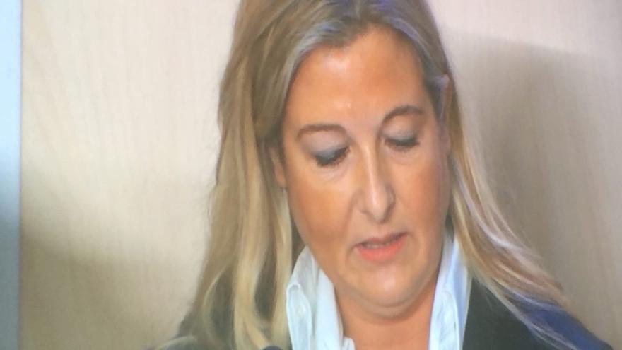 La abogada de Manos Limpias, Virginia López Negrete