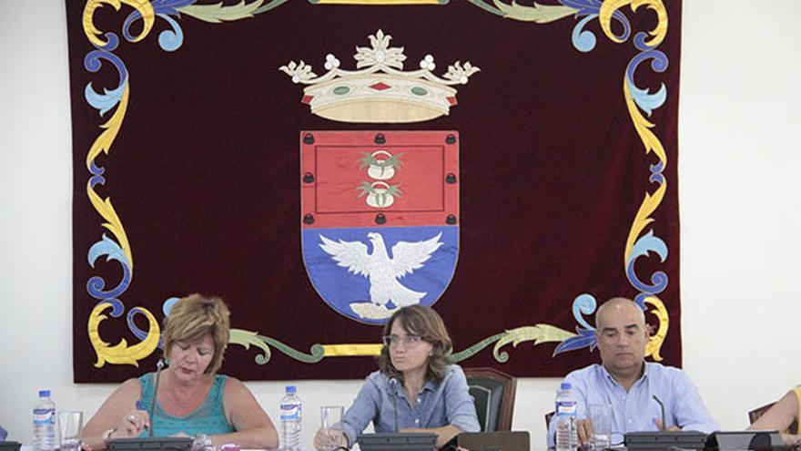 Pleno del Ayuntamiento de Arrecife.