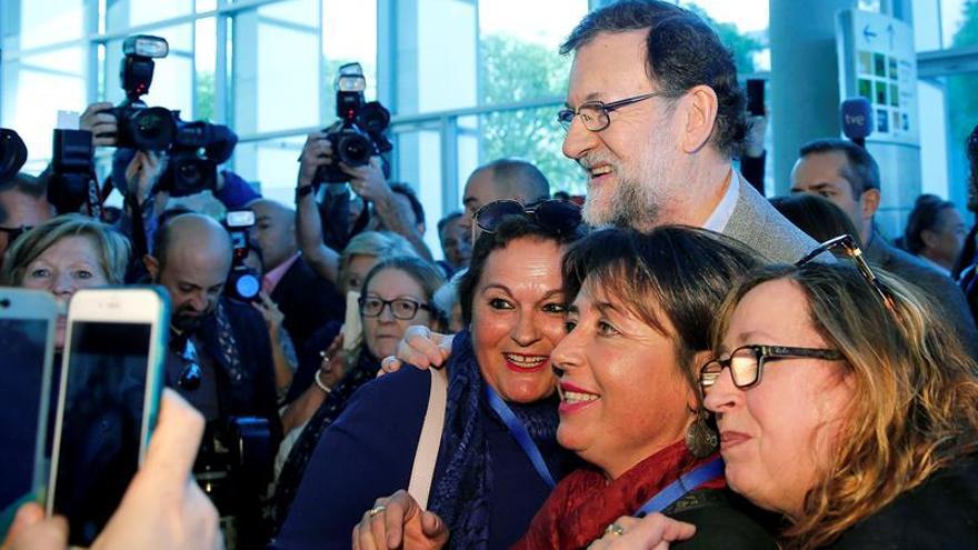 Rajoy asegura que el PP está preparado para ganar en la Comunidad Valenciana