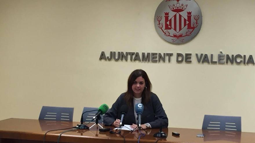 La socialista Sandra Gómez.