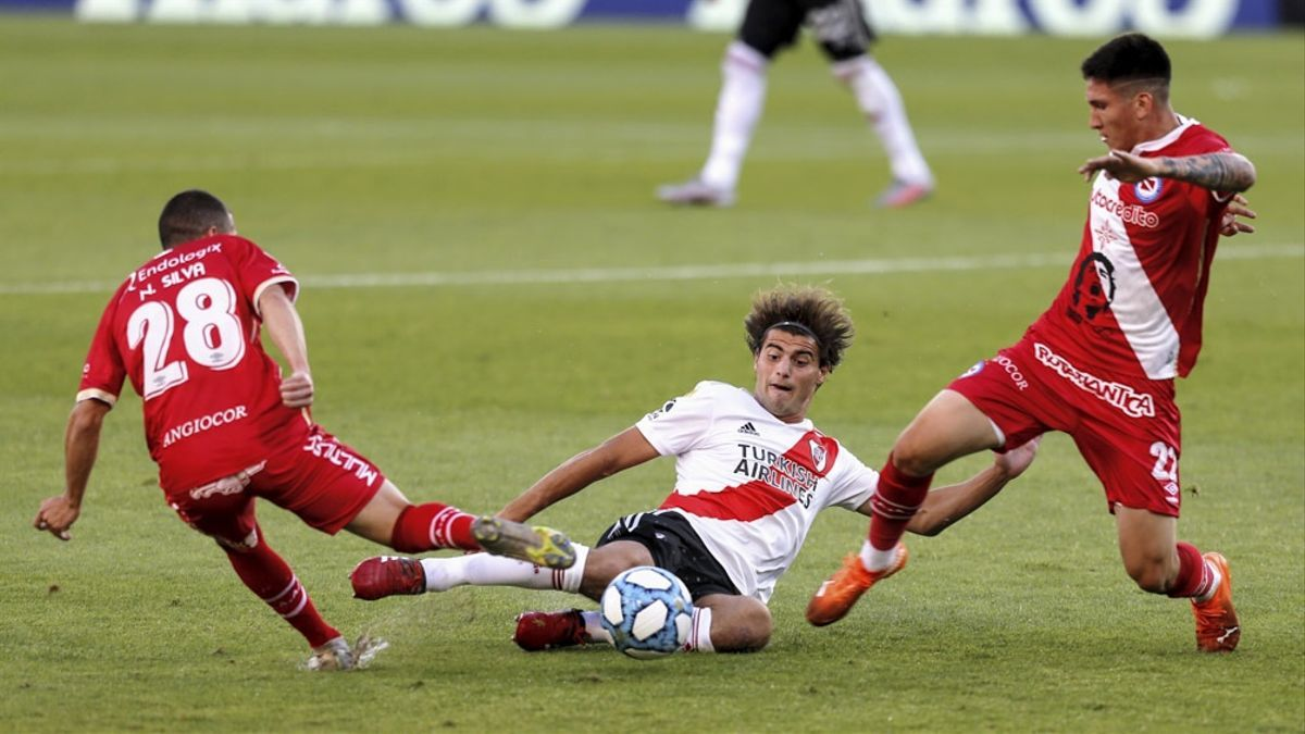 River recibe a Argentinos Juniors por Copa Libertadores.