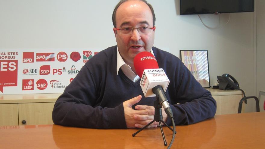 Iceta rechaza investir a Mas y negociar Presupuestos si no hubiera acuerdo JxSí-CUP