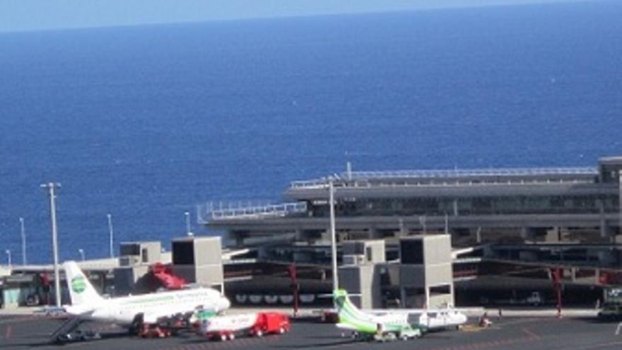 Aeropuerto de La Palma, ubicado en el muncipio de Mazo.