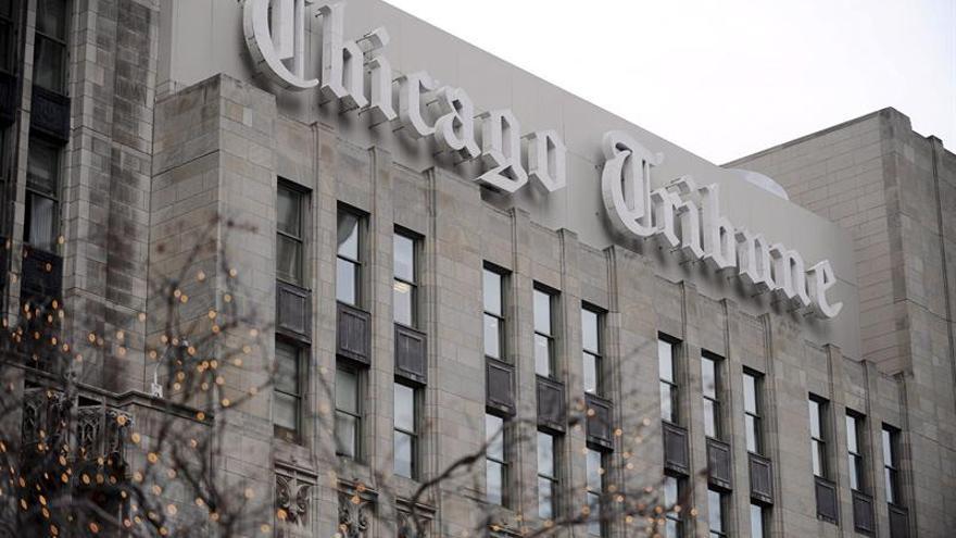 Gannett pone fin a la negociación para comprar la editora del Chicago Tribune