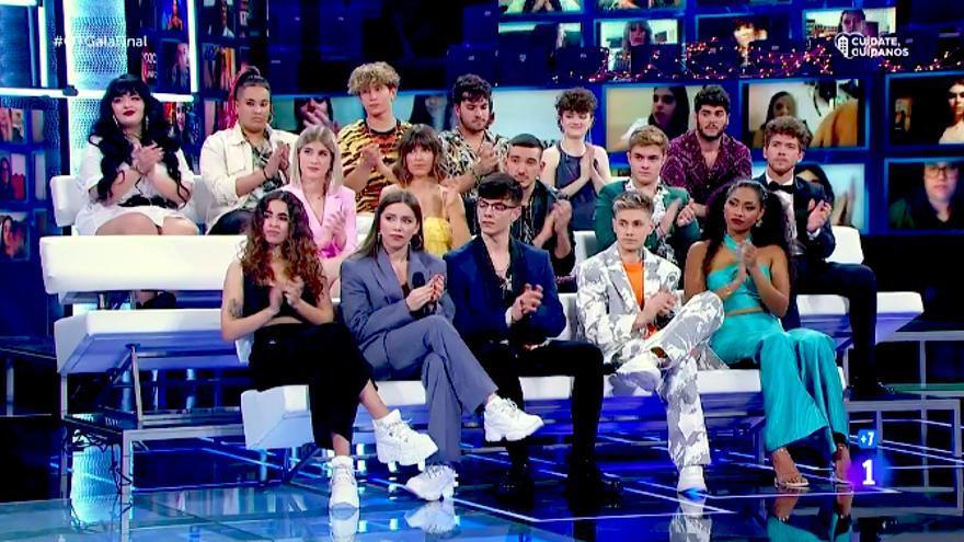 Los concursantes de 'OT 2020' ante el recuerdo a Pau Donés