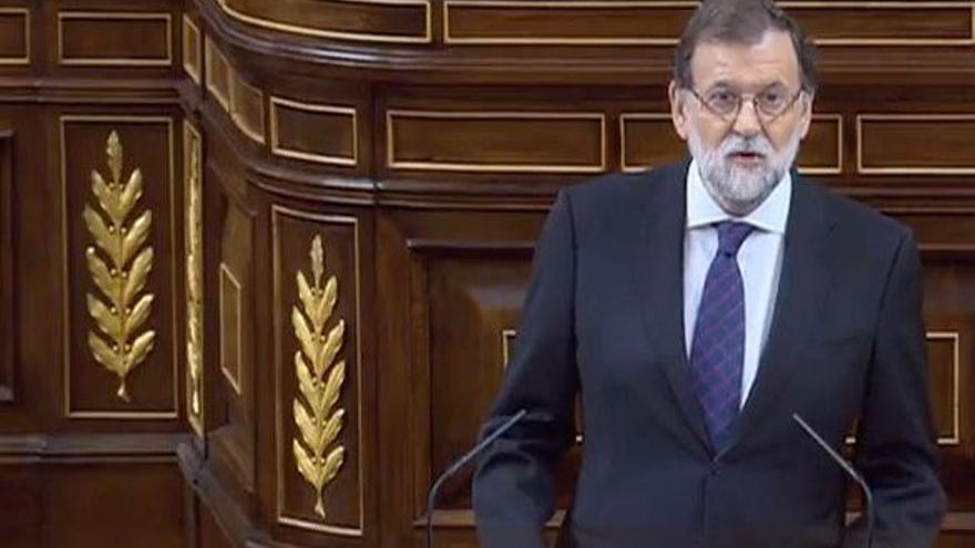 Rajoy da explicaciones sobre la Gürtel en el Congreso