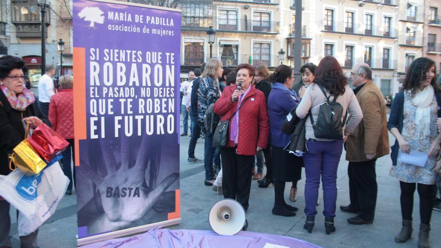 Acto de la asociación 'María de Padilla' en Toledo