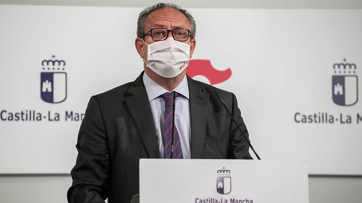 El consejero de Hacienda de Castilla-La Mancha, Juan Alfonso Ruiz Molina