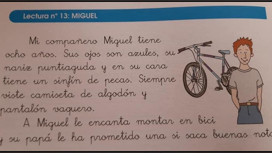 Descripción de Miguel en el libro 'Mis Lecturas Favoritas 2.2'