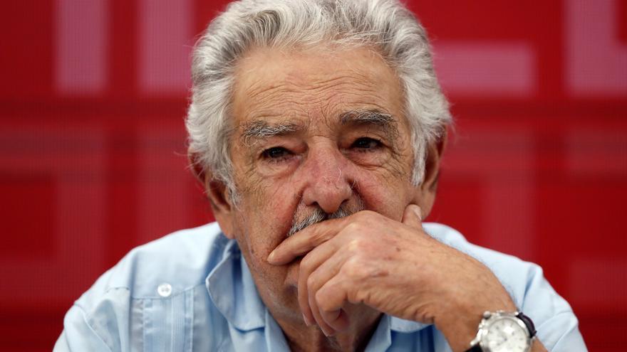José Mújica durante la entrega de premios de la Fundación Abogados de Atocha