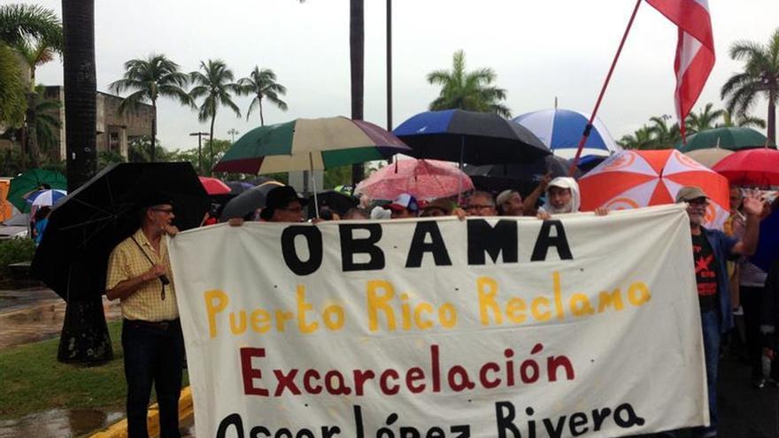 Demócratas piden a Obama liberación de líder independentista de Puerto Rico
