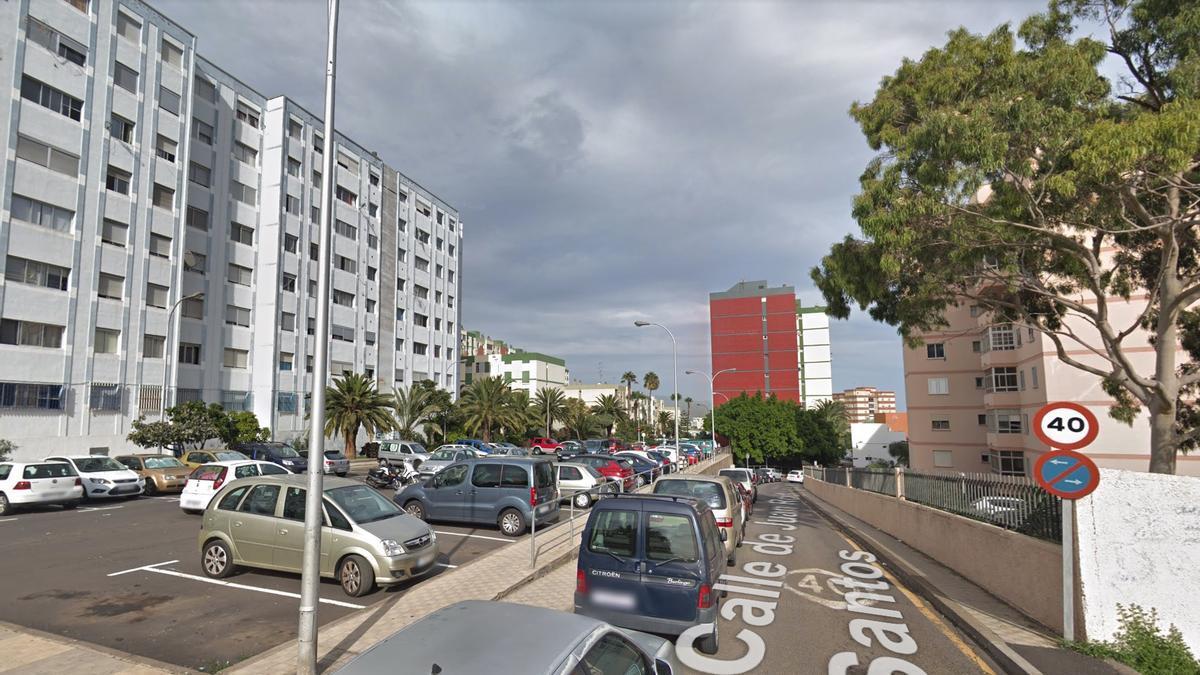 Barrio Nuevo Obrero, en Ofra, Tenerife