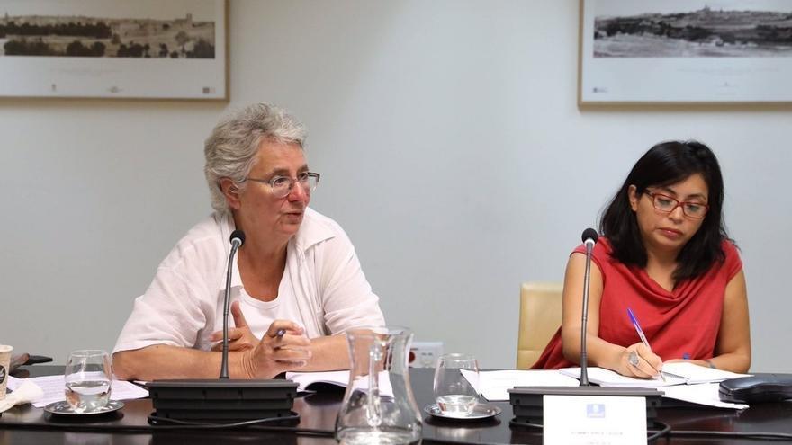 El apoyo de Rommy Arce a la ruptura de BComú con PSC molesta al PSOE, que apoya a Ahora Madrid en el Ayuntamiento
