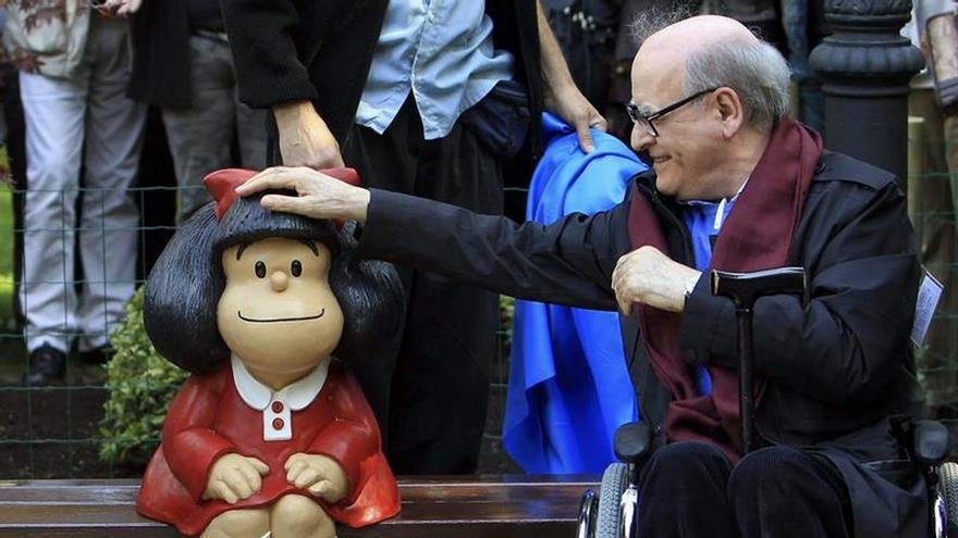 """Quino: Mafalda diría que el mundo de hoy es un """"desastre"""" y una """"vergüenza"""""""