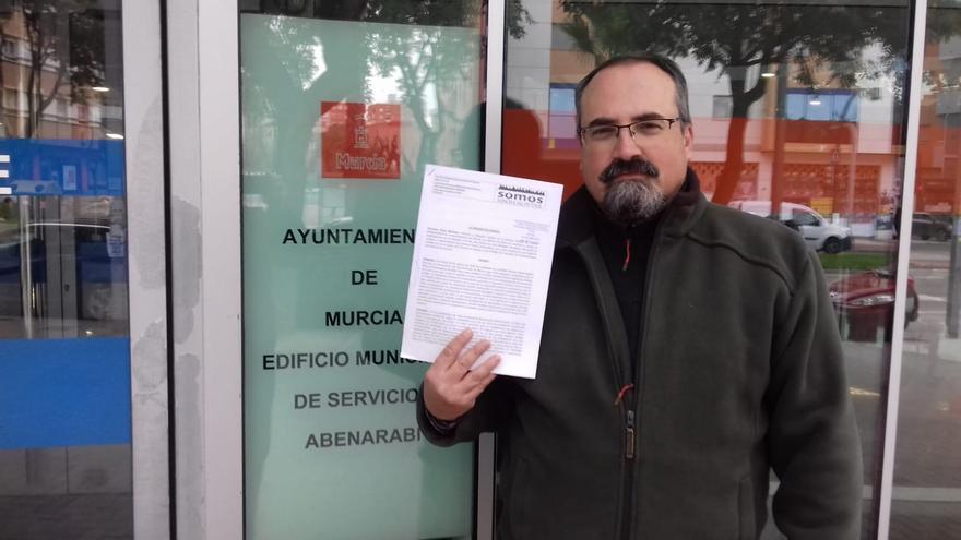 Armando Plaza, Delegado Sindical de Somos Sindicalistas en el Ayuntamiento de Murcia