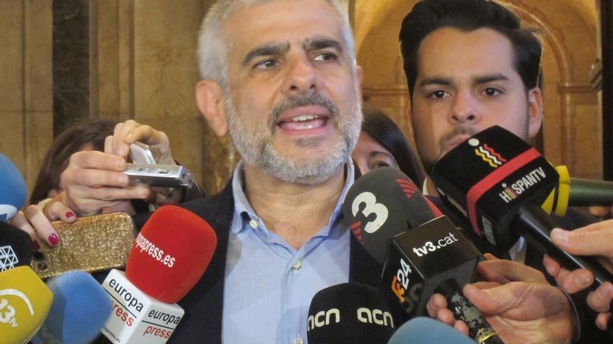 "Carrizosa (C's) acusa a Forcadell de mentir: ""En el Parlament se puede hablar de todo"""