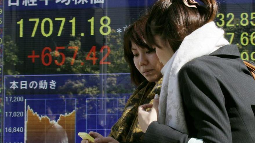 El Nikkei sube un 0,06 por ciento hasta los 17.208,13 puntos