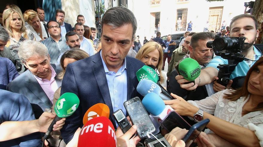 """Sánchez afirma que velará por la """"seguridad"""" en Cataluña con """"serena firmeza"""", """"proporcionalidad"""" y unidad política"""