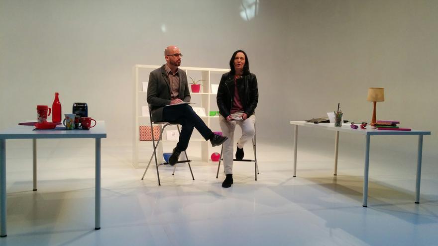 Carolina Bescansa y Nacho Álvarez presentan el Colectivo Mayo 2011-Pensando Vistalegre.