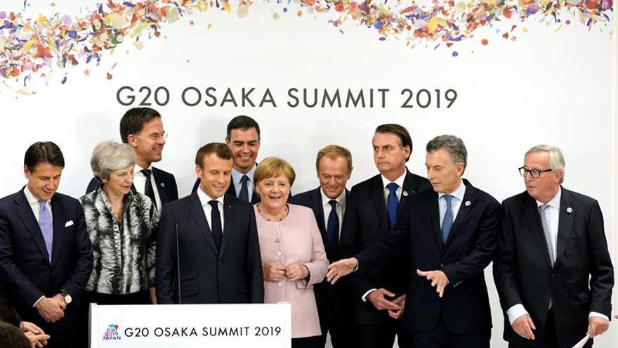 G20 summit in Osaka, Japan