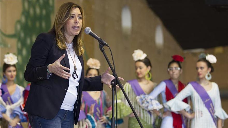 Susana Díaz reclama al Gobierno sensibilidad con los jornaleros andaluces