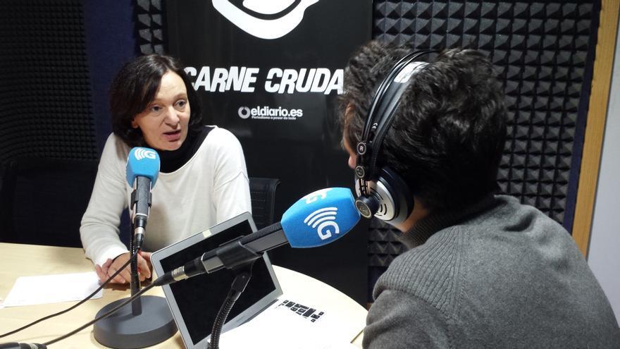 Carolina Bescansa en Carne Cruda -2