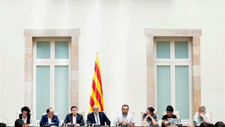 La Ley de Referéndum prevé declarar la independencia antes de 48 horas si ganase el sí