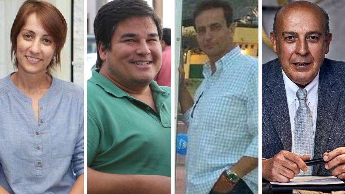 Onalia Bueno, Mencey Navarro, Salvador Álvarez y Luis Oller.