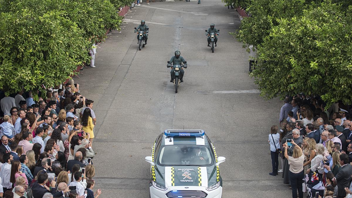 Imagen de archivo de la celebración del Día del Pilar en la Comandancia de la Guardia Civil en Córdoba