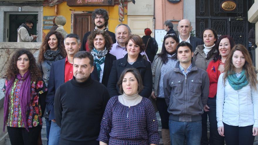 """Maíllo presenta la candidatura de IU al Parlamento andaluz: """"Somos la fuerza de la izquierda"""""""
