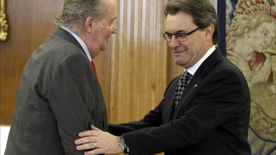"""Mas afirma que aunque cambie el Rey en España """"no cambiará el proceso político catalán"""""""