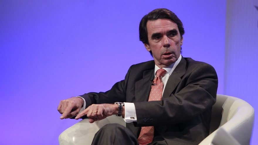 """Aznar dice que la victoria de Macri representa una apuesta """"por el cambio"""""""