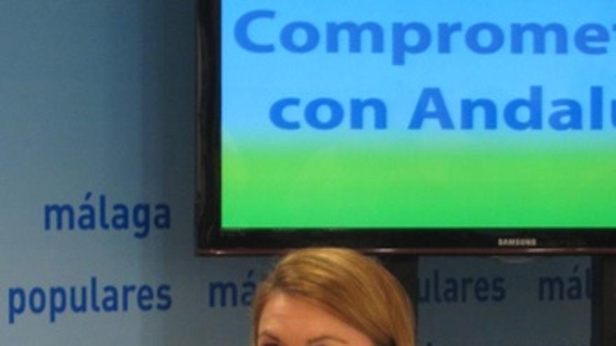 María Dolores de Cospedal preside el Comité de Dirección del PP-A