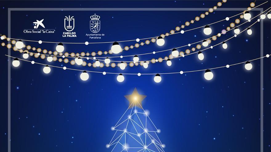 Cartel del Mercadillo de Navidad.
