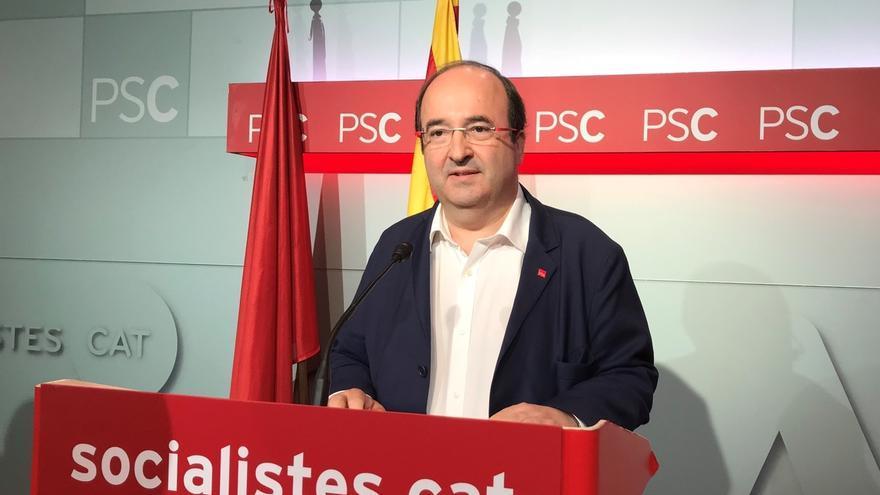 """Iceta llama a cambiar de rumbo en las elecciones tras la """"colisión"""" a la que ha conducido el independentismo"""