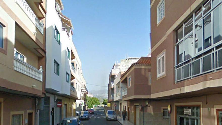 Zona de El Fraile, en Arona, donde se produjo el acto violento