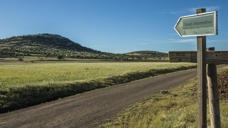 El volcán de La Arzollosa forma parte de la Red de Áreas Protegidas de Castilla-La Mancha