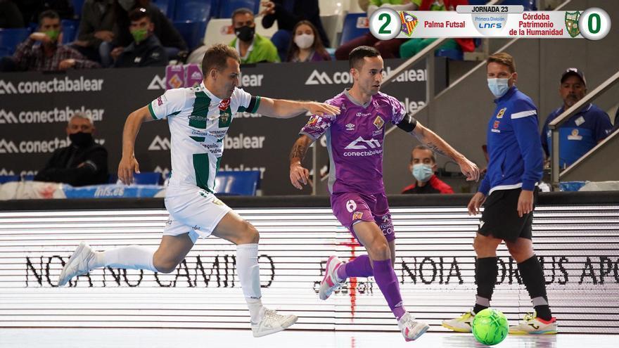 Koseky, en el duelo con el Palma Futsal.