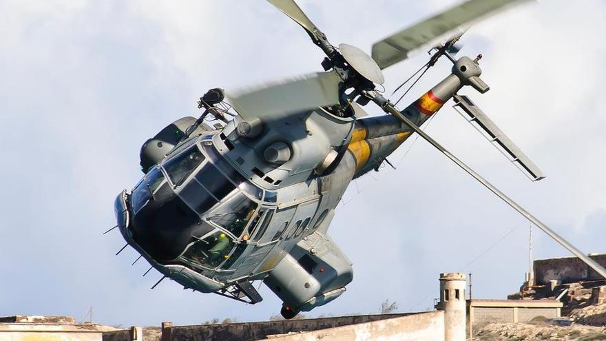 Helicoptero Super Puma SAR