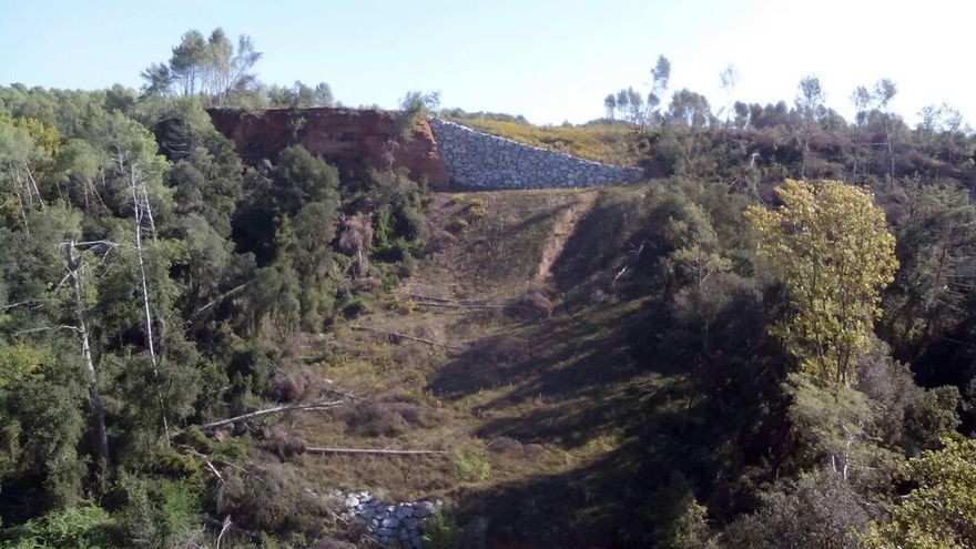 Terrenos de Castellar del Vallès (Barcelona) por los que está previsto que pase el gasoducto Midcat / M.G.