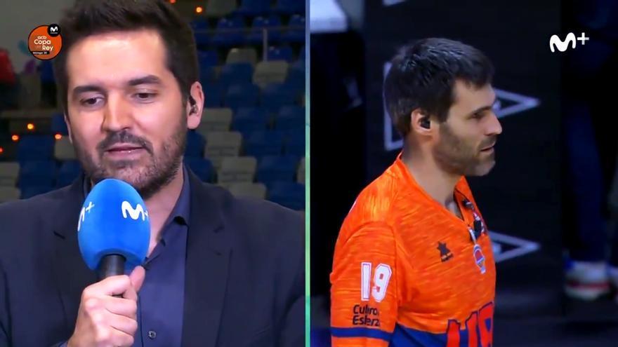 Fran Fermoso habla con Fernando San Emeterio en Movistar+