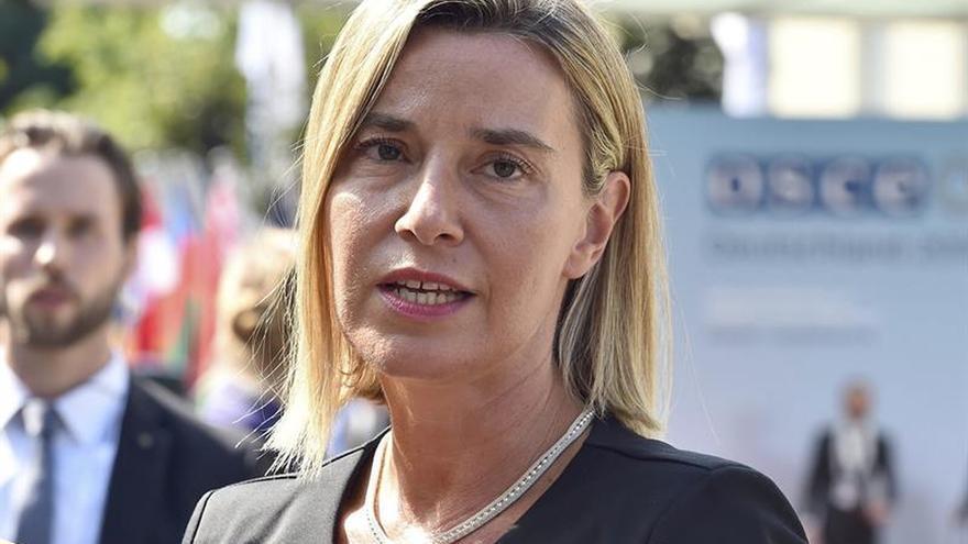 Mogherini hará propuestas a la UE para ayudar a implementar la paz en Ucrania