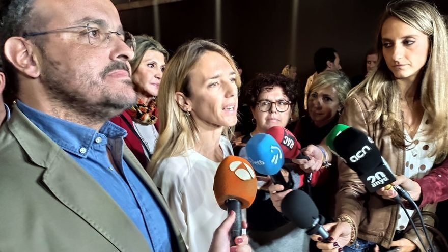 """El presidente del PP catalán ve """"un error"""" la propuesta de Vox de ilegalizar a los partidos separatistas"""