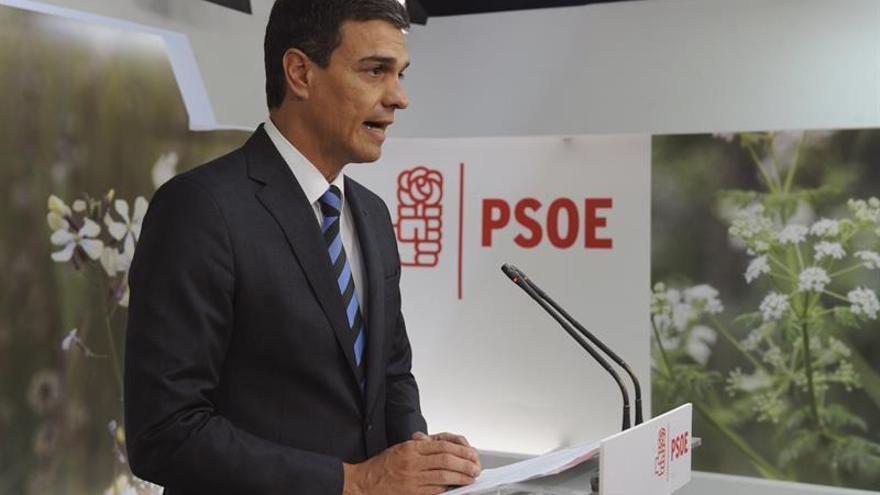 El PSOE descarta que Sánchez intente formar un gobierno si Rajoy declina