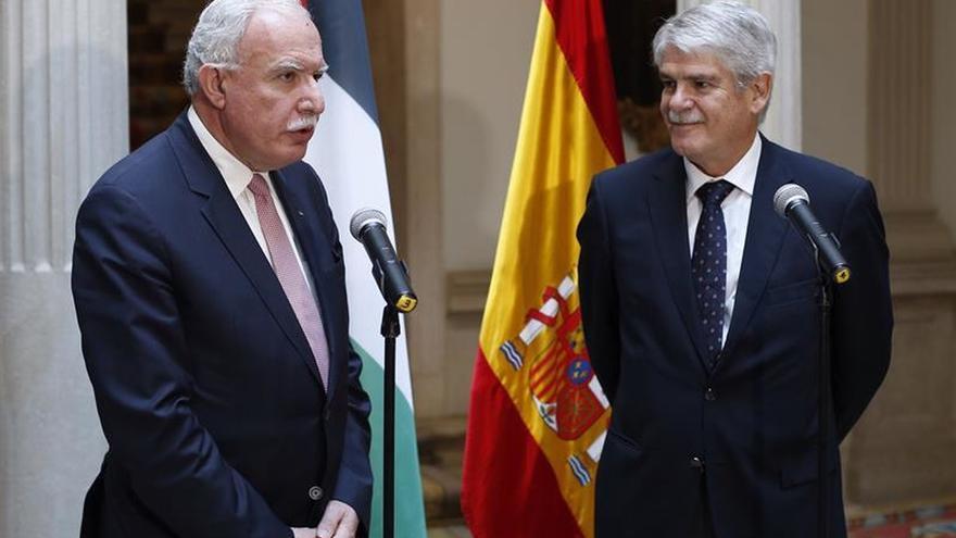 """Palestina apoya una """"España fuerte y unida"""" y apuesta por el diálogo"""