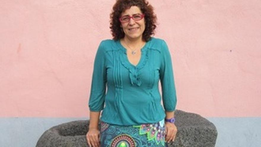 Raquel García dirige la casa de acogida Mantay.