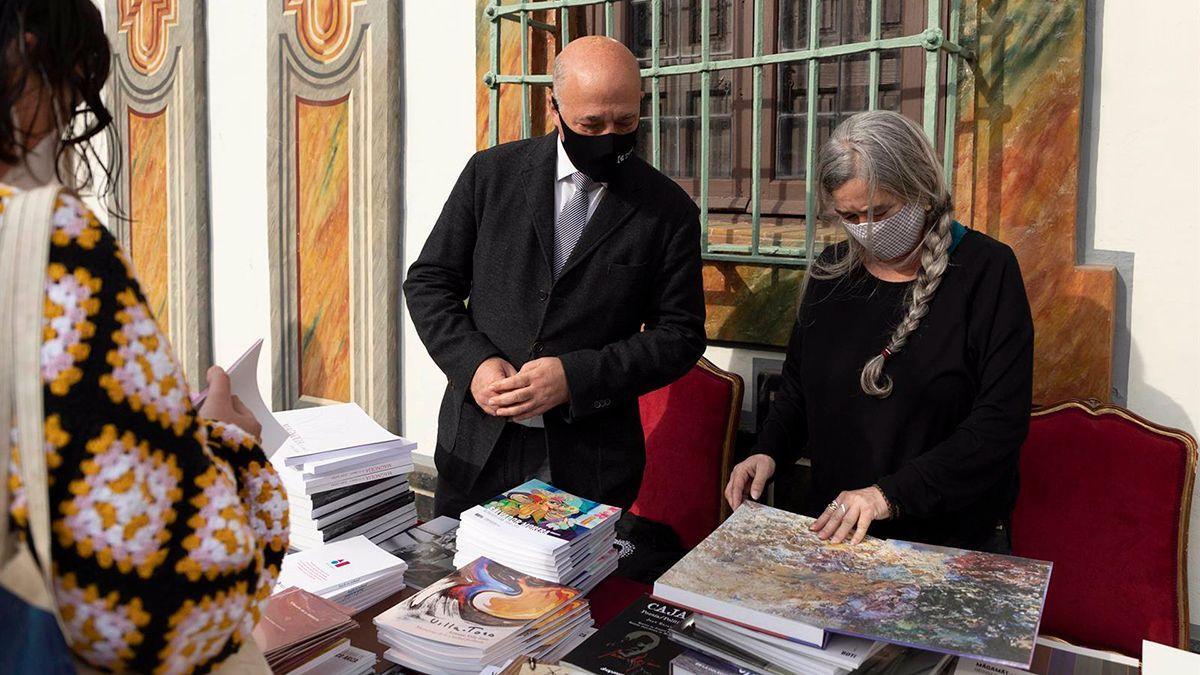 Celebración del Día del Libro en la Diputación de Córdoba.